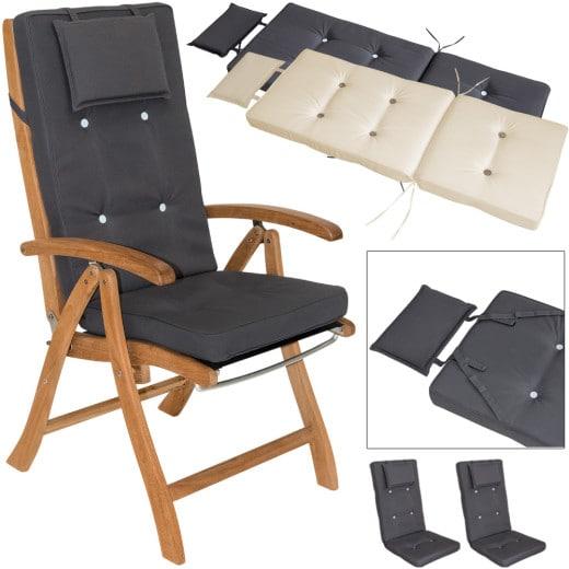 2x Coussins pour chaises à dossier haut Vanamo 7cm épaisseur