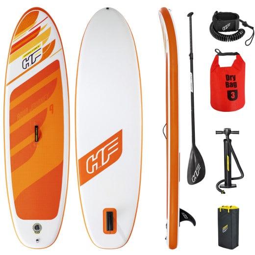 "Set Planche Stand Up Paddle avec sac - HYDRO-FORCE""¢ SUP Aqua Journey 274x76x12cm"