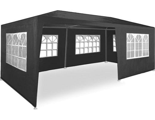 Tonnelle pavillon 3x6m Anthracite