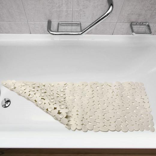 Badewanneneinlage mit Saugnäpfen und Antirutschstruktur
