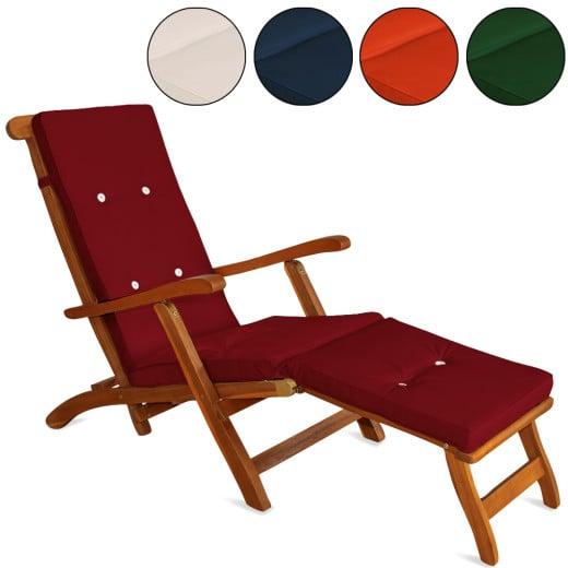 Coussin pour chaise longue 173 cm - Matelas Transat Bain de soleil