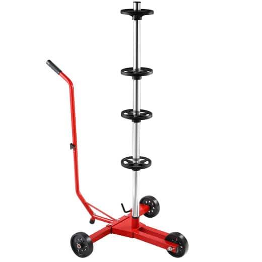 Support de pneus pour 4 roues jantes max. 225mm