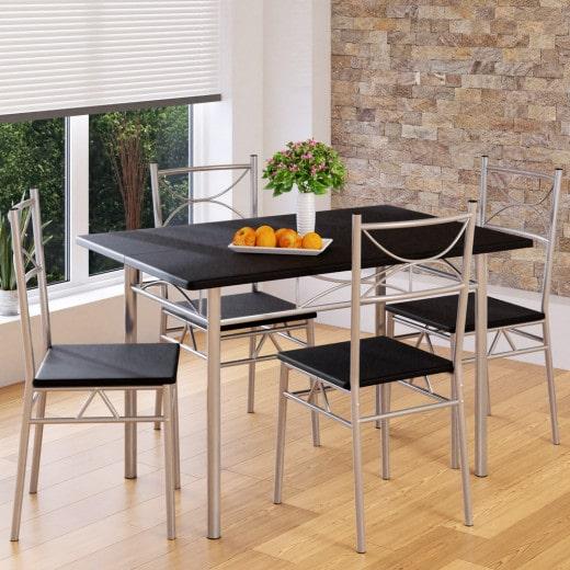 Ensemble tables et chaises Paul - Set 5 pcs