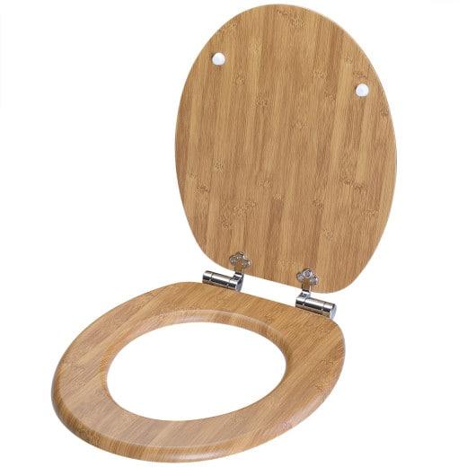 Toilettensitz Bambus