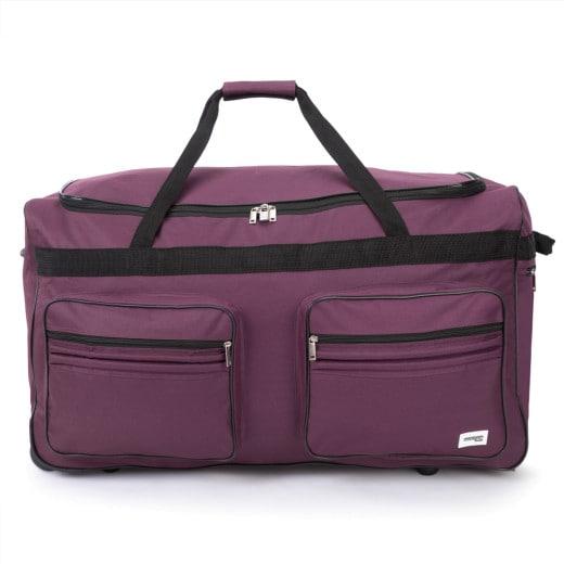 Grand sac de voyage XXL 160L Violet