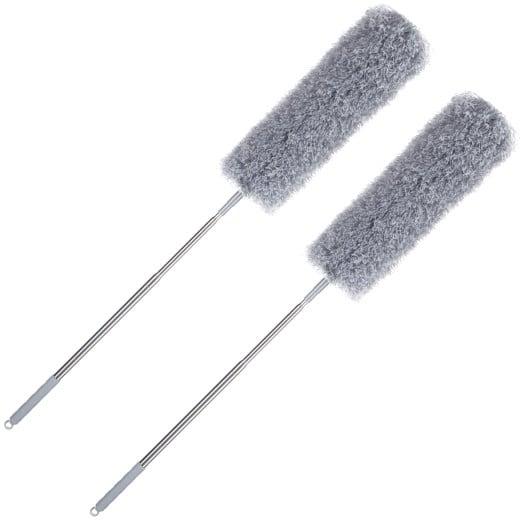 Set de 2 Plumeau dépoussiérant microfibre 82-245cm