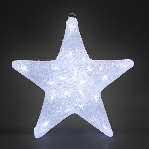 Figurine lumineuse LED acrylique décoration de Noël - Etoile