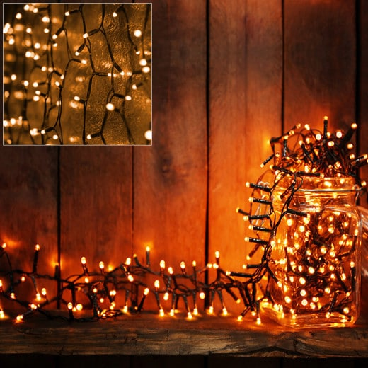 Guirlande lumineuse 100 LED décoration Noël