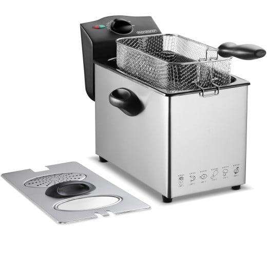 Friteuse électrique en acier inoxydable 4 litres 2000W