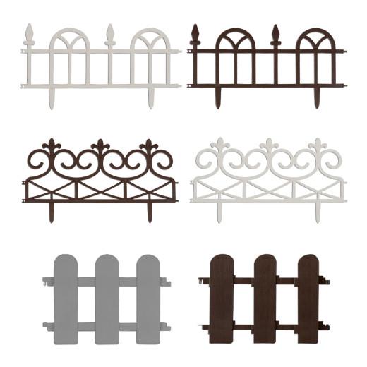 Bordures de jardin différents modèles
