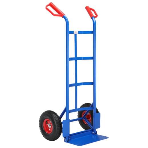 Diable chariot de manutention pliable charge max. 200kg