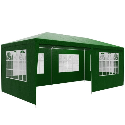 Tonnelle de jardin Rimini 3x6m vert