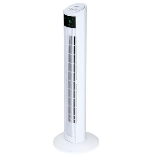 Turmventilator Weiß 96cm inkl. Fernbedienung
