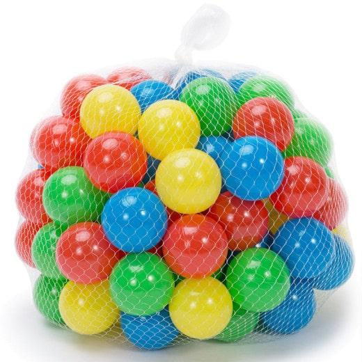 200 Bälle für Kinderspielzelt 5,5 cm