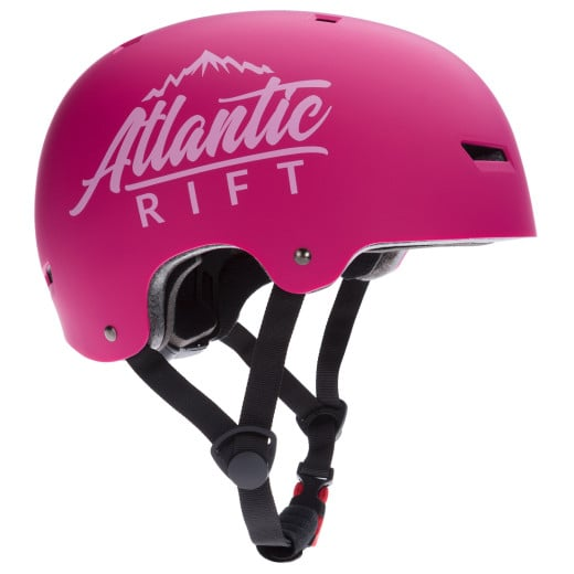 Casque de Skate Vélo BMX Rollers - Réglable - Anti-chocs - Taille S - Rose