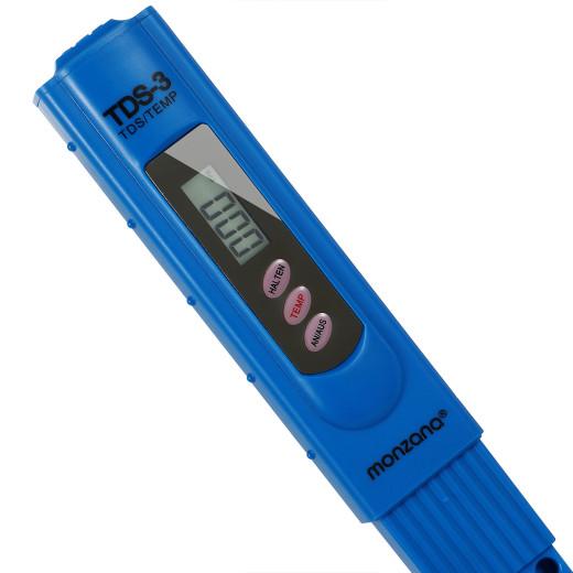 Testeur d'eau 2en1 TDS digitale avec écran LCD avec pile test eau piscine étang