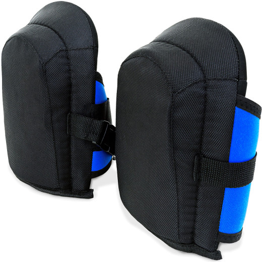 Gel-Knieschoner in Unigröße mit elastischen Stoffriemen
