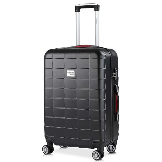 - Valise rigide Exopack - Bagage taille L Noir - Poignée télescopique