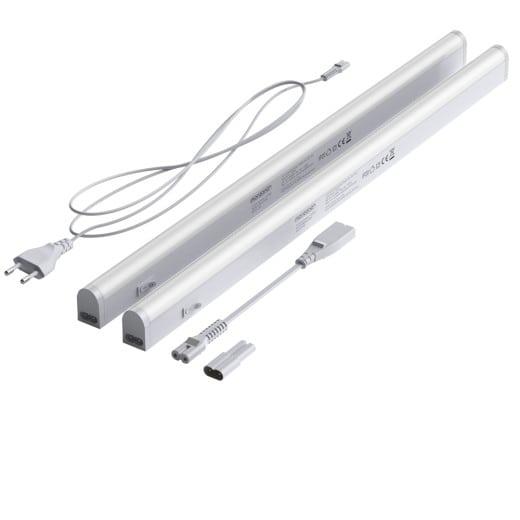 2er-Set LED Unterbauleuchte in weiß