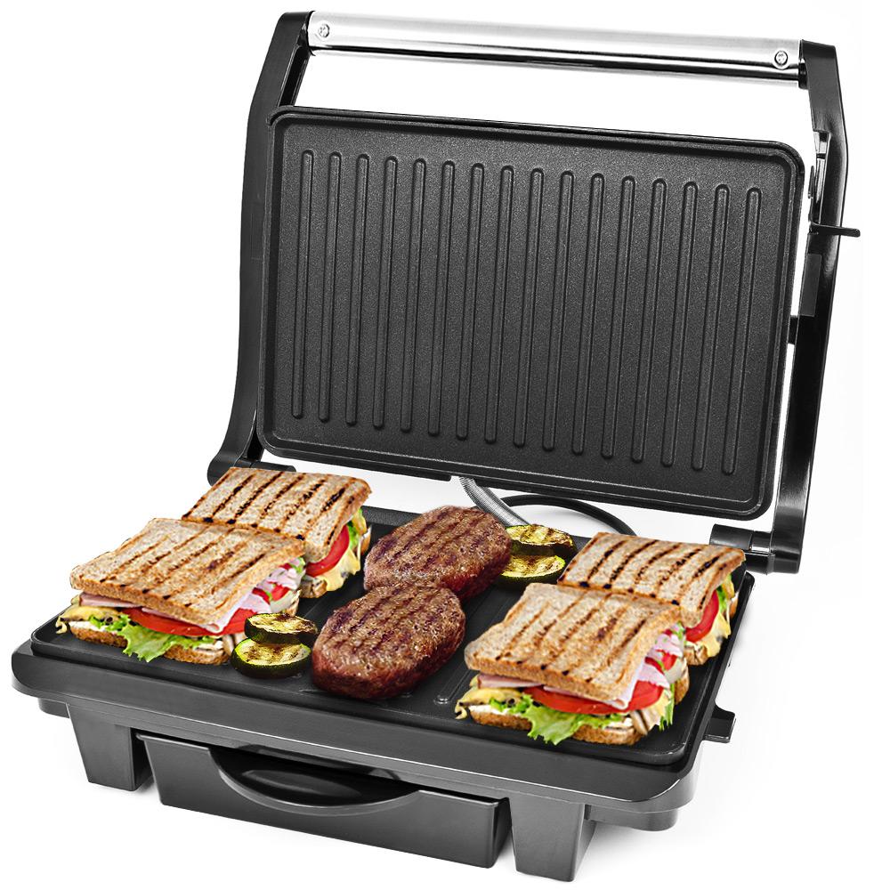 Dunlop 3 en 1 Barbecue de contact électrique de table Panini