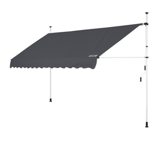 Clamp Awning Anthracite 11.5ft