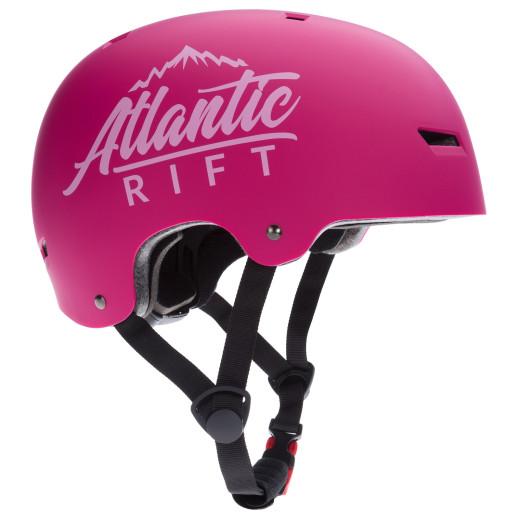 Casque de Skate Vélo BMX Rollers - Réglable - Anti-chocs - Taille M - Rose