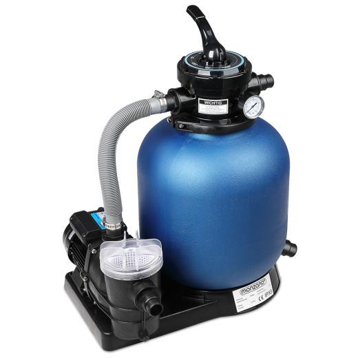 Pompe filtre à sable 10.980 L/h avec préfiltre Systême de filtration Eau piscine