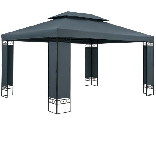 Pavillon Elda Anthrazit XXL 3x4m