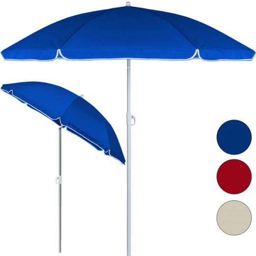 Parasol inclinable - Hauteur réglable - 200 cm- Jardin/plage/terrasse