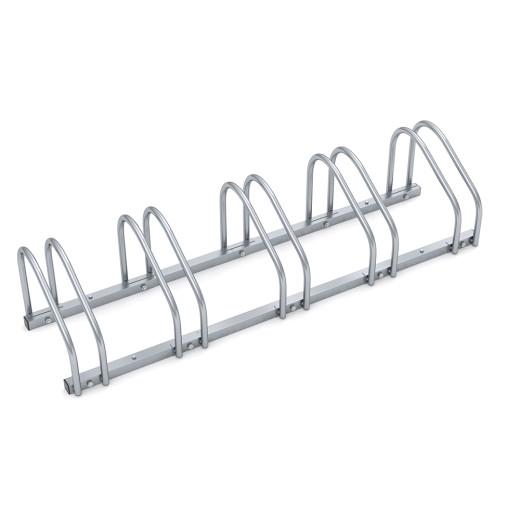 Porte-vélos pour 5 vélos râtelier support de rangement métal max. pneu largeur 60mm au chouix