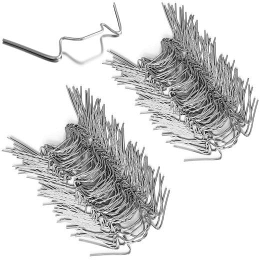 100x Clips de vitrage pour serre en métal