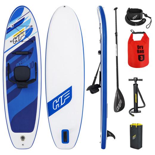 Bestway SUP HYDRO-FORCE™ iSUP OCEANA 305x84x12cm Blau