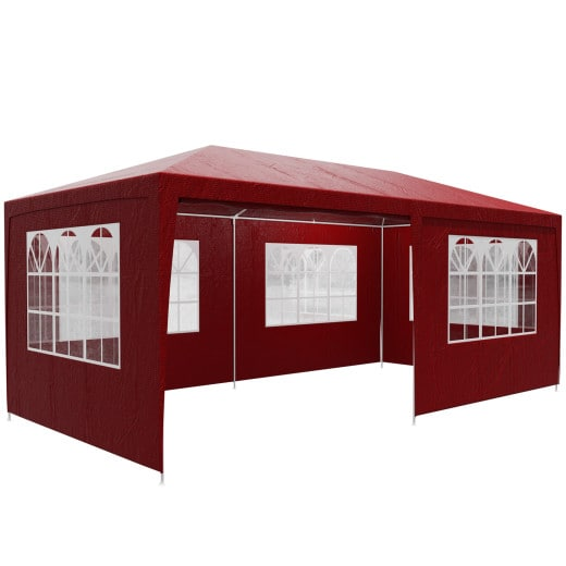 Pavillon Rimini 3x6m Rouge