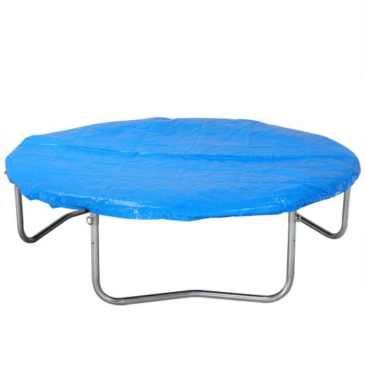 Bâche pour trampoline en PE - Housse de protection de 426cm bleu