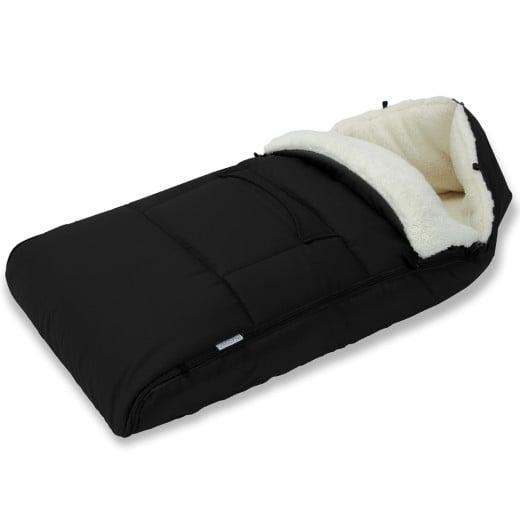Chancelière bébé 93cm adaptée poussettes, sièges auto - noir