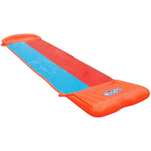 H2OGO!™ Doppel-Wasserrutsche mit aufblasbarer Startrampe 549cm