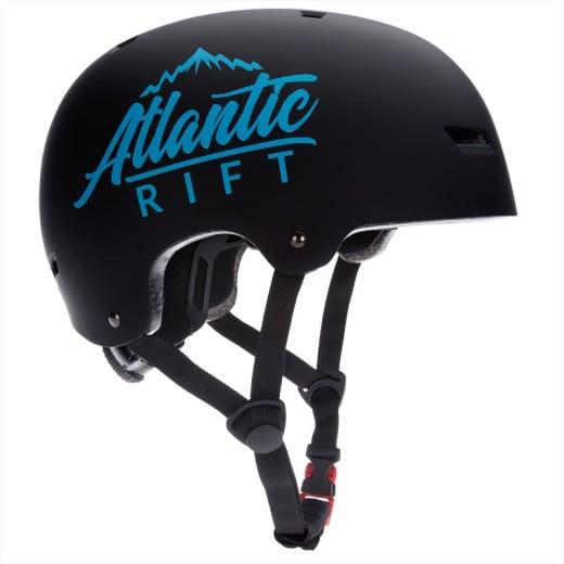 Casque de Skate Vélo BMX Rollers - Réglable - Anti-chocs - Taille M - Noir
