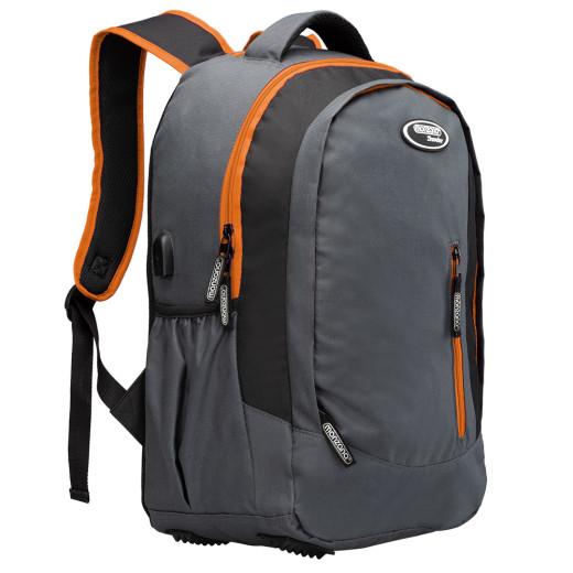 Sac àdos 35L - gris orange
