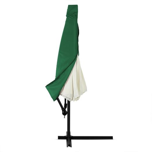Abdeckung 3 m Ampelschirm mit Reißverschluss, grün
