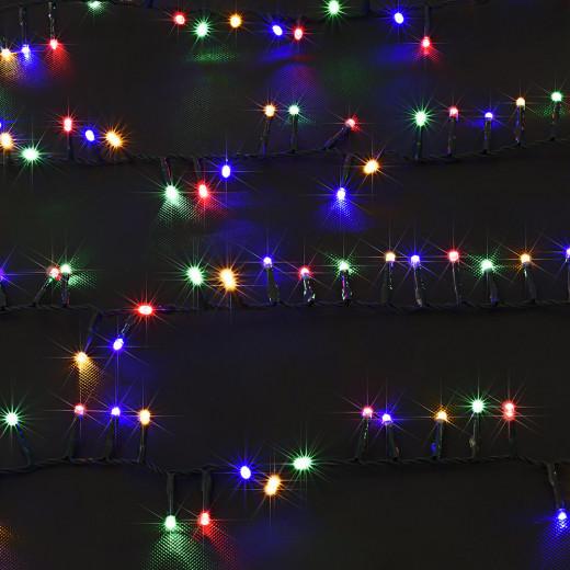 Weihnachtsbaum Lichterkette 14m mit 700 LEDs für Innen/Außen
