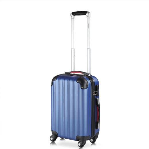 Koffer Hartschale Baseline Blau M aus ABS 34l 33,5x20x50cm