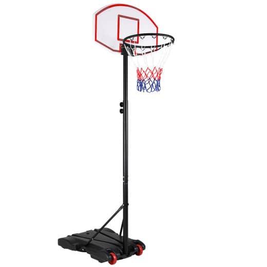 Basketballkorb höhenverstellbar 179-209cm mit Rollen