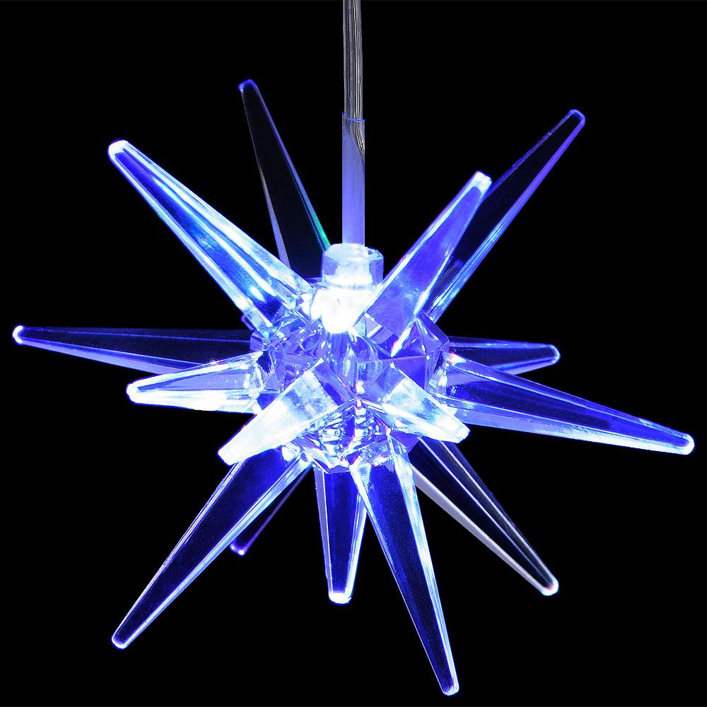 Étoile pour sapin de Noël LED - 7 couleurs
