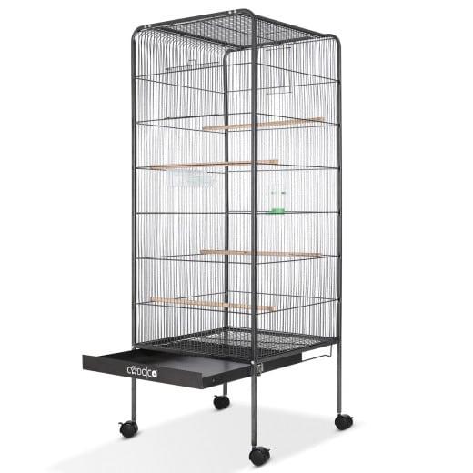 Volière cage àoiseaux XL - 146cm 2 portes